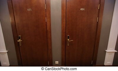 Two Doors in Hotel - Two rooms at the hotel
