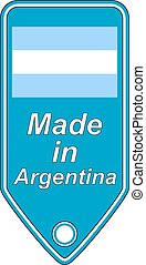 Made in Argentina icon.