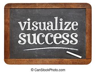 visualize success advice on blackboard - visualize success...