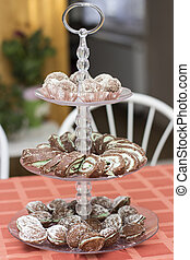 Cookies on the table - Delicious cookies on the table - food...