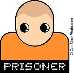 prisoner symbol - Creative design of prisoner symbol