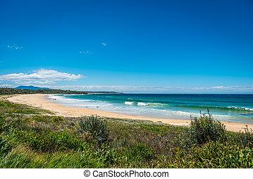 Sandy beach, Western Australia