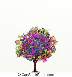 watercolor enchanted
