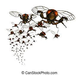 Cicada Swarm