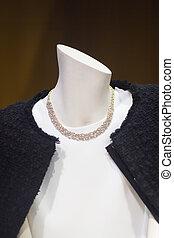 Women's clothes fashion store mannequin