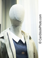 Women's clothes fashion store mannequin
