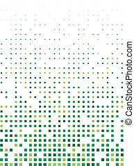 Abstract square pixel mosaic background. Vector. Template...