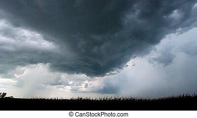 Severe Thunderstorm Lightning - Severe thunderstorm and...