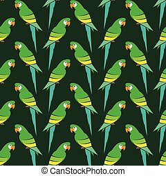 Parrot vector art background design for fabric and decor....