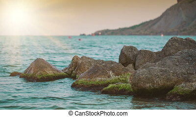 Stones in the Water - beautiful sea view