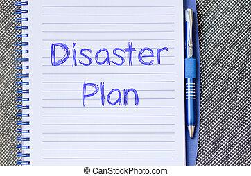 寫, 筆記本, 災禍, 計劃
