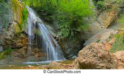 Amazing Waterfall Dzhur Dzhur In Motion - This is a...