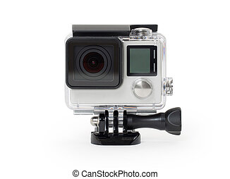 High-definition personal camera, isolated, no brand -...