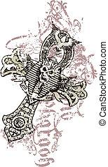 egypt style skull