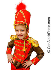 closeup image of cute little hussar - closeup image of the...