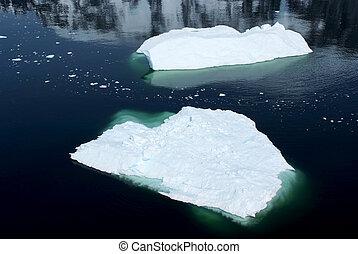 Antarctica - Floating Ice