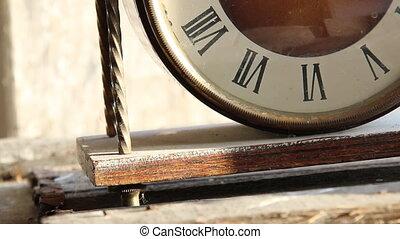 elegant roman numeral clock - Elegant roman numeral clock,...