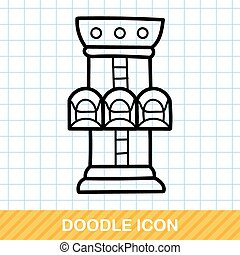 Freefall doodle