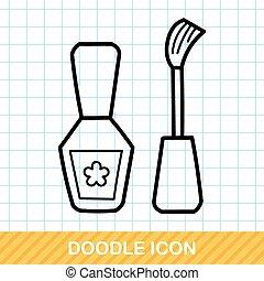 Nail Polish doodle
