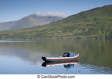 Killary Fjord, Connemara National Park; Galway; Ireland
