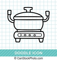 rice cooker doodle
