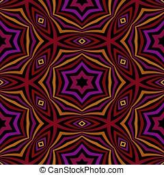 Seamless, kaleidoscopic, Padrão,