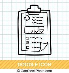medical file color doodle