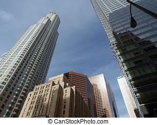 LA\'s Tallest Towers - Downtown LA\'s tallest buildings...