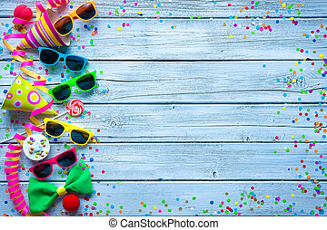 Carnival background - Colorful carnival background with...