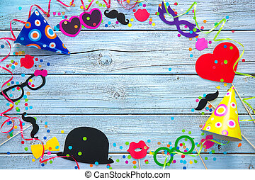 Carnival background - Colorful background with carnival...