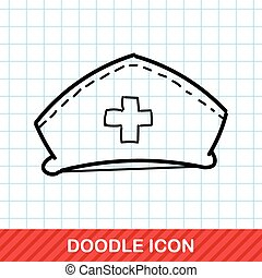 nurse hat color doodle