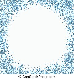 Winter Vector Greeting Card