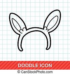 Headband doodle