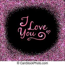 Pink Valentine background