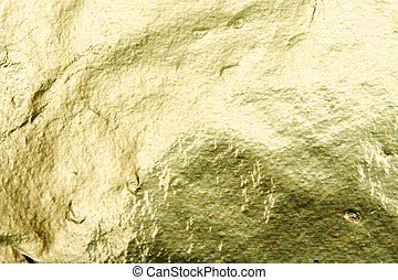 Foil - Gold foil abstract texture