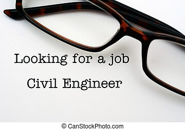 Looking for a job Civil Engineer