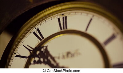 Vintage Clock Face - Vintage clock face close up