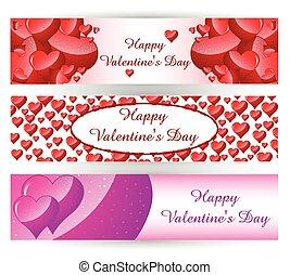 St. Valentine's Day banner