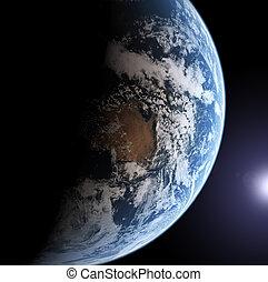 地球, モデル