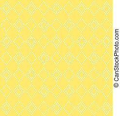 Modern colorful pattern with geometric design Vector image