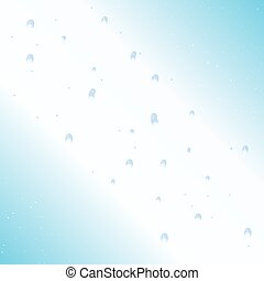 Water bubbles background - Water bubbles on light background...