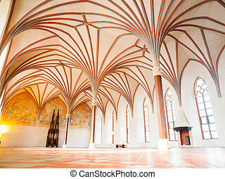 Malbork Grand Refectory - The Grand Refectory, the biggest...