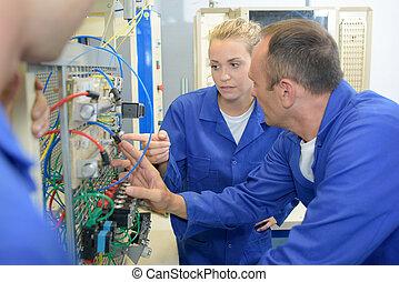 ingeniería, eléctrico