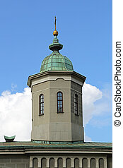 Church Roof Tower - Orthodox Christian Church Roof Tower...