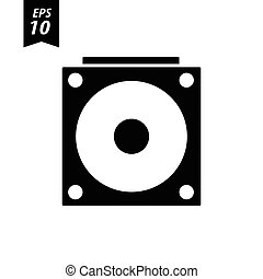 hard disk icon.