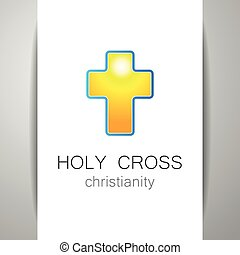 holy cross logo - Holy Cross - the sign pattern design The...