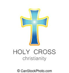 holy cross logo - Holy Cross - the sign pattern design. The...