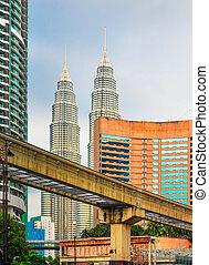 Modern Kuala Lumpur - Kuala Lumpur messy architecture...