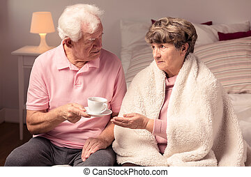 Love and care between couple