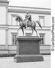 Wilhelm I monument - Statue of German emperor king Wilhelm I...